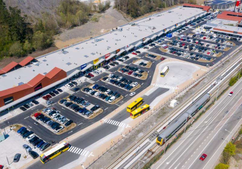 Mitiska REIM opens new retail park development in Belgium